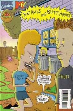 Beavis and Butthead Vol 1 27 - Marvel Database - Wikia
