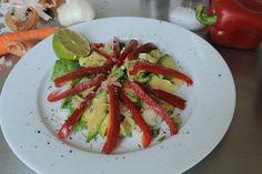 Avocado Salat mit Limettensaft