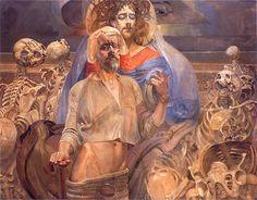 Jacek Malczewski - Proroctwo Ezechiela, 1919
