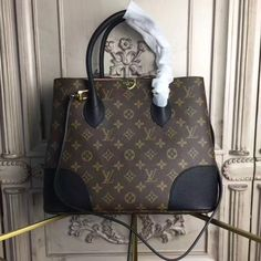 Louis Vuitton Flandrin Monogram Canvas Noir M41595 #Flandrin