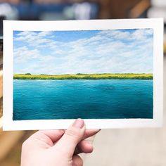Acrylic Paintings, My Arts, Polaroid Film, Seasons, Instagram, Seasons Of The Year