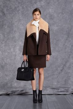 c056992596ea Mulberry Pre-Fall 2014 - The collection took cues from Charlotte Rampling s  boy-meets-girl style and the minimalis.