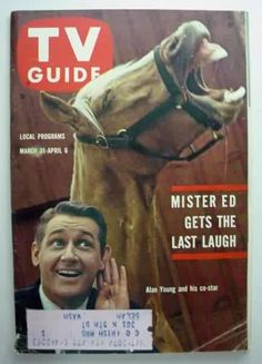TV Guide, March 1962 (Mr. Ed and Alan Young)