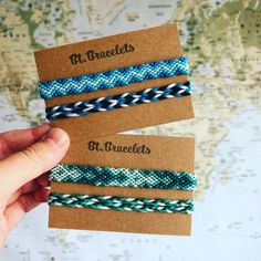 accessories bracelets We ship all over the world! So it doesnt matter where you live, everyone can order in our Etsy shop! Thread Bracelets, Embroidery Bracelets, Ankle Bracelets, Beaded Bracelets, Jewellery Bracelets, Jewellery Shops, Jewellery Box, Jewelry Stores, Anklet Designs