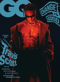 Travis Scott in Calvin Klein Cotton Stretch Boxer Briefs. Captured by Adrienne Raquel for GQ Magazine. #MYCALVINS  Stylist: Mobolaji Dawodu Gq Usa, Zapatillas Nike Jordan, Rap Us, Travis Scott Wallpapers, Travis Scott Iphone Wallpaper, Houston, Cactus Jack, Kid Cudi, Christopher Nolan