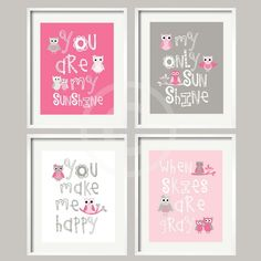 Very cute for a baby girls room - love this Tam