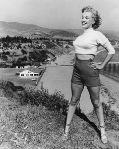 Marilyn Monroe en California, alrededor de 1953.
