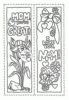 mom you are great mothers day coloring page for kids coloring pages printables free