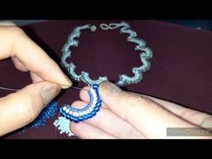 Colier - semiluna- handmade din margele ( beads ) - YouTube Beaded Jewelry Patterns, Crochet Earrings, Bracelets, Beaded Necklaces, Youtube, Fashion, Moda, Fashion Styles, Bracelet