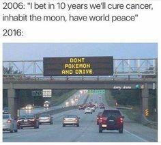 Don't Pokemon and Drive #PokemonGO