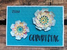 Flowerpower zum Geburtstag😊🌸💮🌸 #mundartstempel  #sizzix #lovepaper #lovetobecreative #bunt #flowerpower #cards # Bunt, Happy Birthday, Paper, Frame, Creative, Cards, Home Decor, Birthday, Happy Brithday
