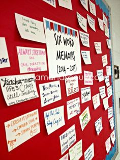 Great first day of school activity-six word memoirs Great first day of school activitysix word memoirs! The post Great first day of school activity-six word memoirs appeared first on School Diy. Middle School Ela, Middle School English, Middle School Classroom, 1st Day Of School, Beginning Of The School Year, English Classroom, Back To School Art, High School Activities, First Day Of School Activities