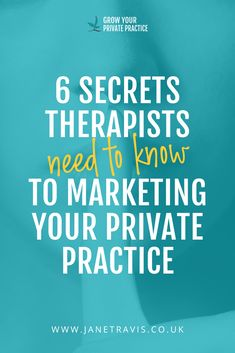 6 secrets therapists need to know to start marketing your private practice - Jane Travis, Grow Your Counselling Business Mental Health Therapy, Mental Health Counseling, Career Counseling, Elementary Counseling, Family Practice, Private Practice, Therapy Tools, Therapy Games, Hand Therapy