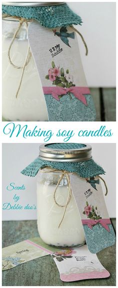 ... Home made this and that. on Pinterest | Soy candles, Jasmine and Jelly