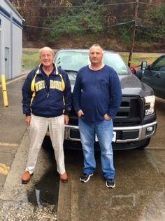 Joe Hudson with his Sales Consultant, Tom Kruger. Thanks again, Joe 😉👍