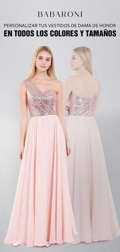 04a9b874de Los detalles alrededor de este vestido crean un impresionante escote de un  hombro y una lentejuela