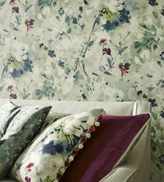 Simi Wallpaper by Sanderson | Jane Clayton