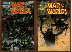 Lot of 2 War of the Worlds Comic Books Issue #1 & #3 Eternity Vintage 1988 1989 Comic Books For Sale, Vintage Comic Books, Vintage Comics, My Ebay, War