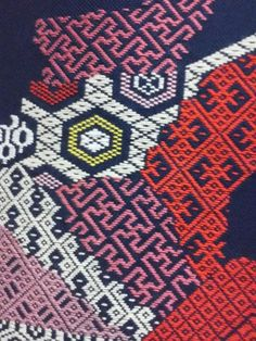 Koginzashi tapestry #Japanese embroidery