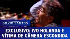 """Pegaram ele câmera escondida"""" ivo holanda """"é vítima de câmera escondida pela primeira vez"""