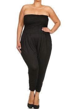 73337a9513f Plus Size Sexy Strapless Jumpsuit – PLUSSIZEFIX Curves Clothing