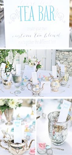 Baby Shower | Tea Bar | Party Favor Idea | Andrea Patricia Photography