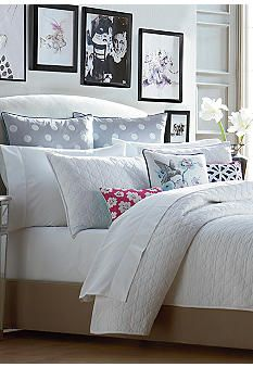 CYNTHIA Cynthia Rowley Rowley Mosaic Reversible Coverlet Collection