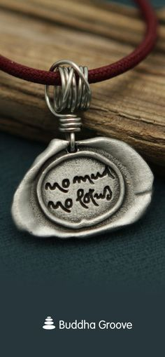 No Mud No Lotus Thich Nhat Hanh Necklace