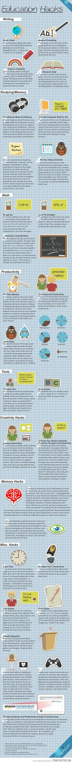 Great education hacks... - The Meta Picture
