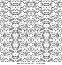 Vector monochrome seamless pattern, repeat ornamental background, angled geometric tiles. Abstract endless texture. Design element for prints, identity, cover, decor, textile, wallpaper, digital, web