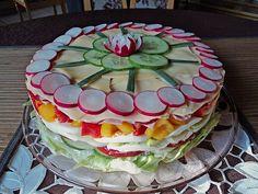 Heisenbergs Küche: Party - Salattorte Blickfang auf jeder Feier