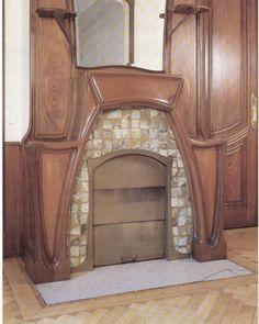 Art Nouveau / Jugendstil Fireplace