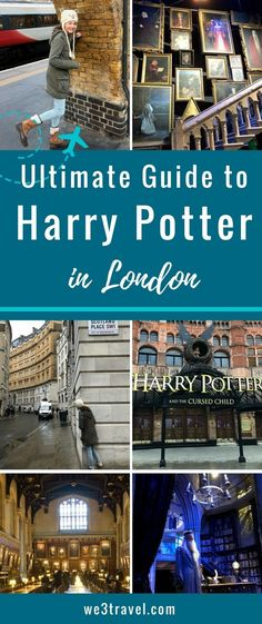 The ultimate guide to Harry Potter attractions in London including filming locations in and around London and the Warner Bros Studio Tour via @we3travel