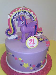 twilight sparkle birthday cakes Google Search My Little Pony 5th