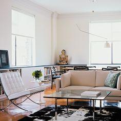 Barcelona® Chair | Knoll $6906 White