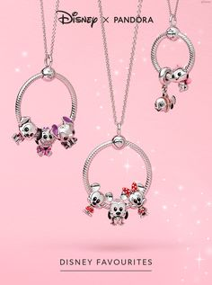 A series of character charms from the stories close to your heart. Designed in collaboration with Disney's in-house toy designers, they're a must for any Disney fan! Disney Pandora Bracelet, Pandora Necklace, Disney Jewelry, Pandora Jewelry, Pandora Charms, Disney Charms, She's A Lady, Jewellery Uk, Perfect Pink