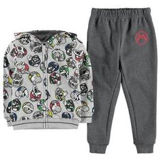 d15bb8cb424da Super Mario Hoodie and Jogger Set UK – noveltycharacter Joggers, Boys, Super  Mario,