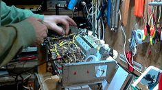 European Vacuum Tube Radio Video #3 - Install New Filter Capacitors