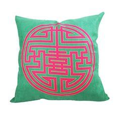 Decorative Pillows - Wedding Words Cushion Cover