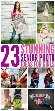 While the school year may have just started, parents of seniors need to start planning for their grad's senior pictures now. Here are some gorgeous ideas to help get you going.