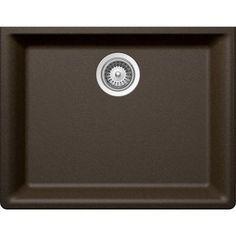 Buy Here: http://thd.co/1K2Hig5 SCHOCK GALAXY CRISTADUR GAXN100YU087 Undermount Granite Composite 23.6 in. Single Bowl Kitchen Sink in Bronze #kitchensink #kitchensinks #kitchen #sinks #schock #granitesink