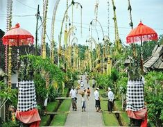 Penglipuran is one of the tourist village that is still very thick with the customs and culture of Bali that highly upholds the local wisdom and also the naturalness