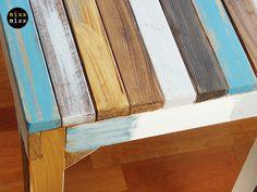 Couchtische - Wunderschöner Tisch Paradieso BLUE - ein Designerstück von mixxmixx bei DaWanda