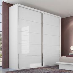 Quarda roupa: branco, duas portas de correr