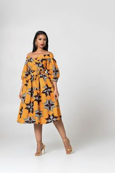 Here at Grass-fields we have an awesome range of African dress designs. Whether you're after an African print maxi or midi dress, we've got something for you. Ankara Short Gown Styles, Short African Dresses, Latest African Fashion Dresses, African Print Dresses, African Print Fashion, Africa Fashion, African Fashion Traditional, African Print Dress Designs, African Attire