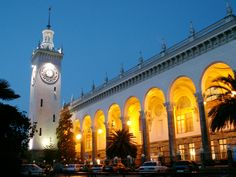 Sochi, Russia host of the 2014 olympic winter games and home sweet home.