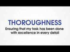 (G9) Thoroughness - Character Trades. Character traits games for kids. - YouTube
