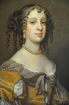 17th Century Fashion, 17th Century Art, Catherine Of Braganza, Renaissance Portraits, Old Portraits, Baroque Fashion, Historical Costume, Art History, Les Oeuvres