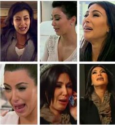"""Kim's ugly crying face blinds you   23 Realizations About """"Keeping Up With The Kardashians"""""""