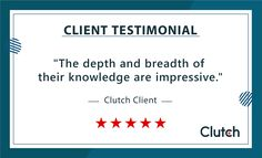 We are so pleased to share this 5 Star rated review we received from one of our clients on Clutch. Hearing from our clients about their experience with us is so important, and enables us to continually provide a high-quality service as a business. Customer satisfaction is our priority, if you want to discover how we can improve your business performance talk to our team today. #teamsystematix #quality #customerservice #businessperformance #clienttestimonial #5stars #customerreviews Business Performance, Business Analyst, Marketing Automation, Growing Your Business, Software Development, Priorities, Improve Yourself, Knowledge, In This Moment